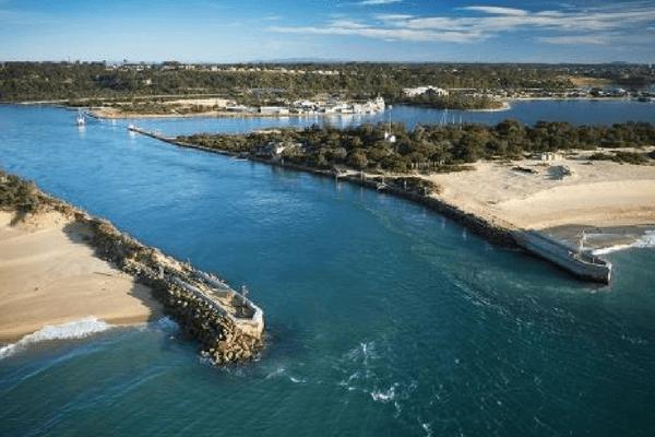 Gippsland Lake, Australia