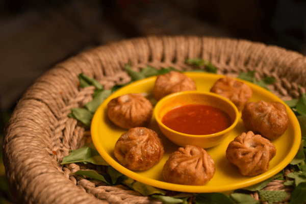 Fried Momos, Dharamsala
