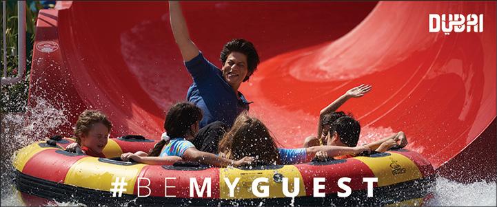 Shah Rukh Khan - BeMyGuest
