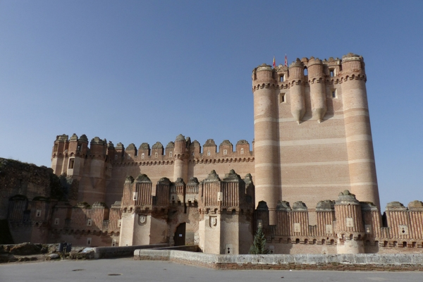 Castillo De Coca , Palaces in Europe owned by Royal Families