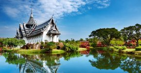 anphet Prasat Palace, Ancient City, Bangkok, Thailand