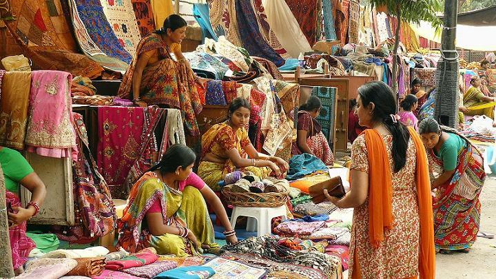 shopping at Sarojini Nagar and Karol Bagh