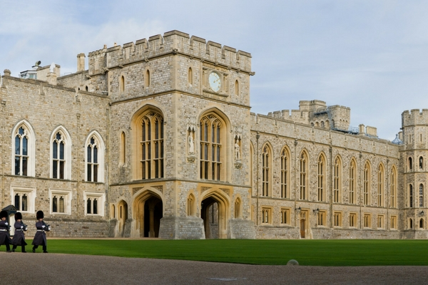 Windsor Castle, Palaces in Europe owned by Royal Families