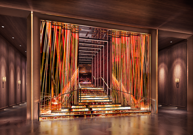 Entrance-Staircase-Revised Las Vegas Nightlife Experience at these Clubs