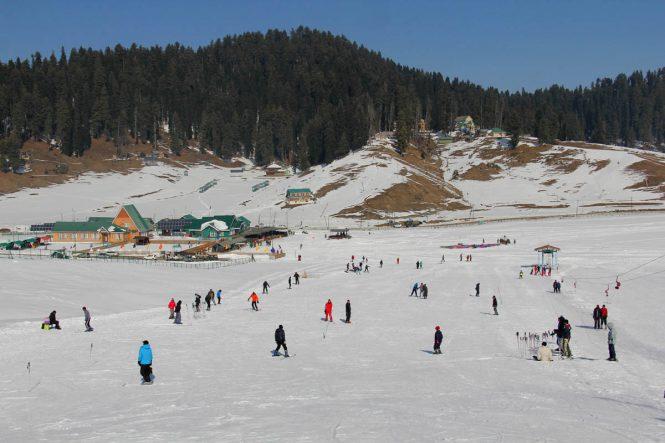 Gulmarg - Skiing