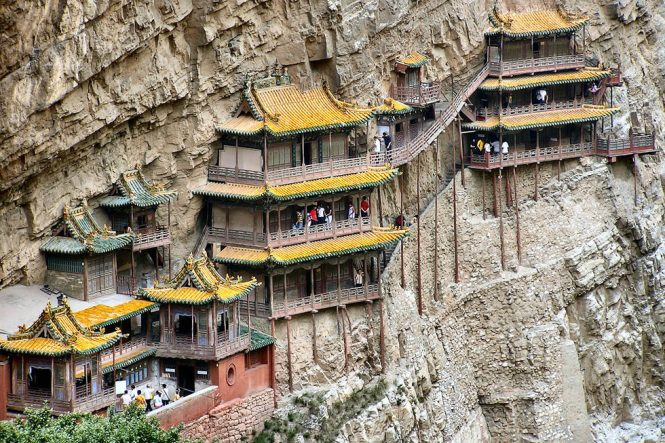 Hanging temple - Things to do in China