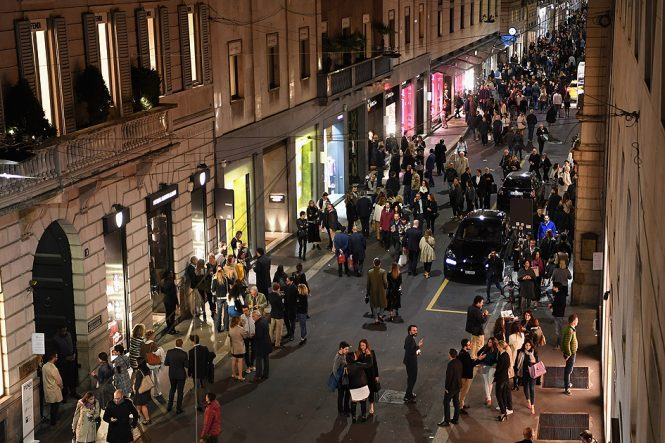 Via Monte Napoleone, Milan - shopping in Italy