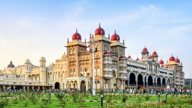 Mysore Palace-historical places in India