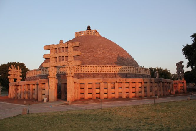 Sanchi Stupa-historical places in India