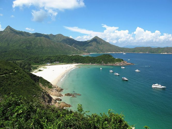 The Long Ke Wan Beach - Hong Kong Beaches