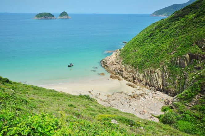 The Tai Long Wan Beach - Hong Kong Beaches