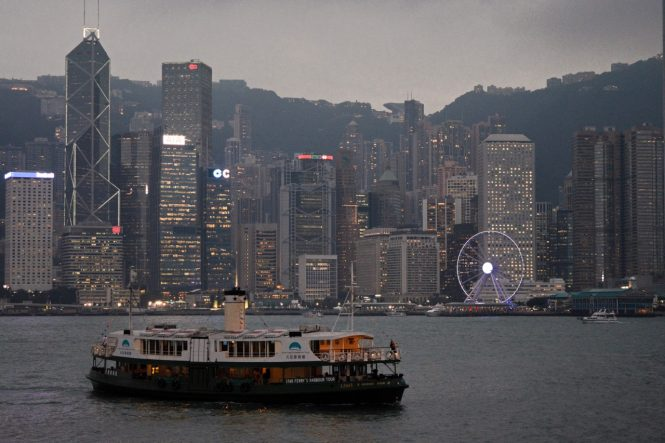 Star Ferry-Travelling to Hong kong