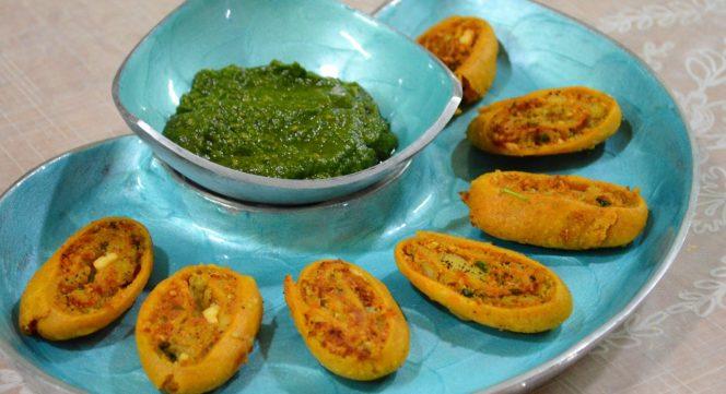 Vegetable Bhakarwadi - Gudi Padwa