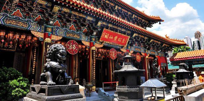 Wong Tai Sin Temple-Travelling to Hong kong