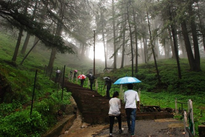 Jakhoo hills- places to see in Shimla