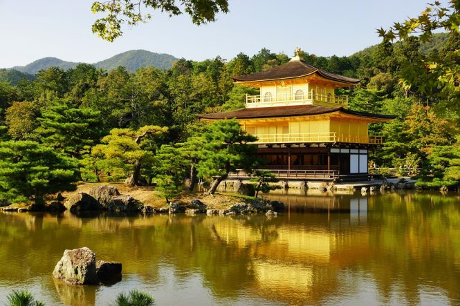 Golden Pavilion-places to see in Japan
