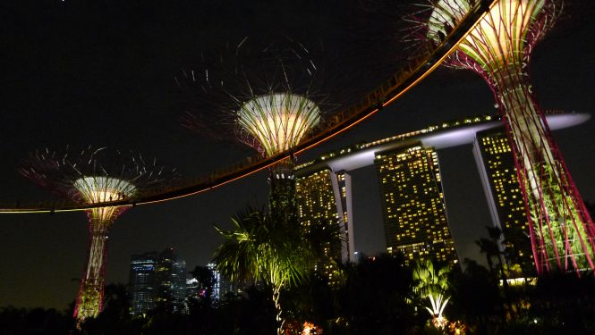 Gardens by the bay - Romantic places in Singapore
