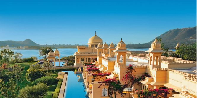 Oberoi Udaivilas - Honeymoon resorts in India