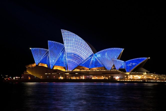 Sydney Opera House - Australia Nightlife