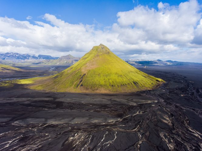 Maelifell Volcano- things to do in Iceland