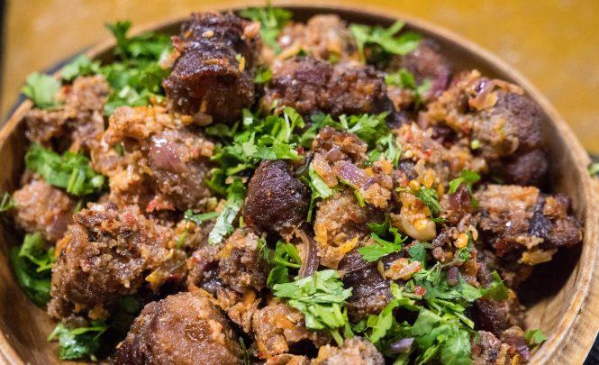 Juma- Bhutan food