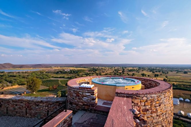 Ramathra Fort- resorts in Rajasthan