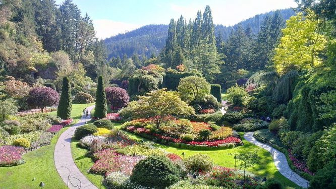 Butchart Gardens- Places to visit in Canada