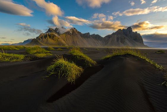 Vesturhorn Mountain- things to do in Iceland