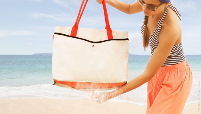 Sand-proof Beach Tote - Travel Gadgets