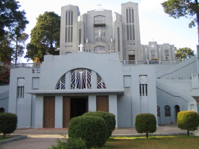 Mary Help of Christian Cathedral-Places to visit in Shillong