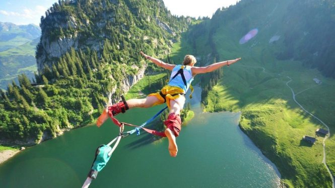 Bungee Jumping- Adventure Activities in Uttarakhand