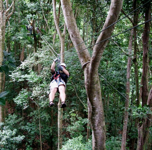 Ziplining- Adventure Activities in Uttarakhand
