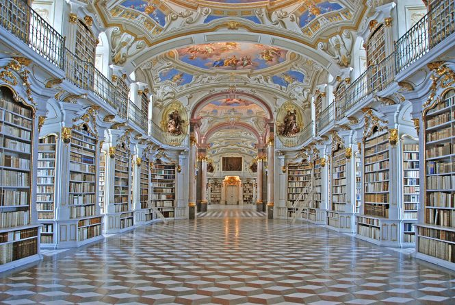 Go to Admont Abbey Library- Things to do in Austria