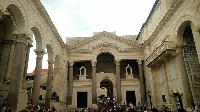 Diocletian's Palace- places to visit in Croatia