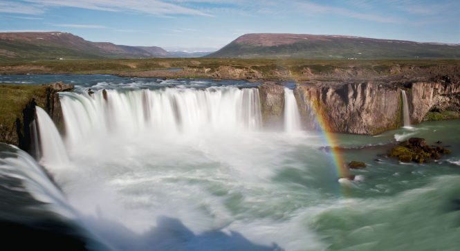 God's Waterfall- things to do in Iceland