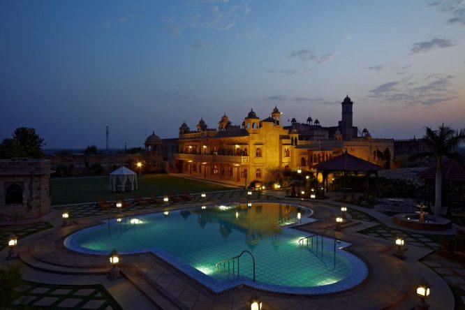 Khimsar Fort- resorts in Rajasthan