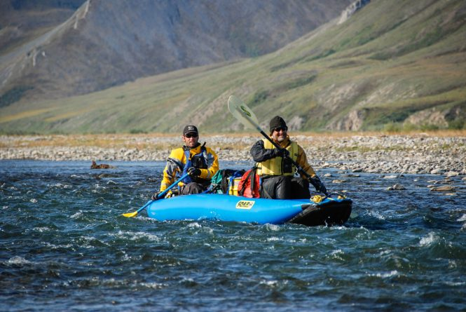 Paddle the Kongakut- Alaska adventure