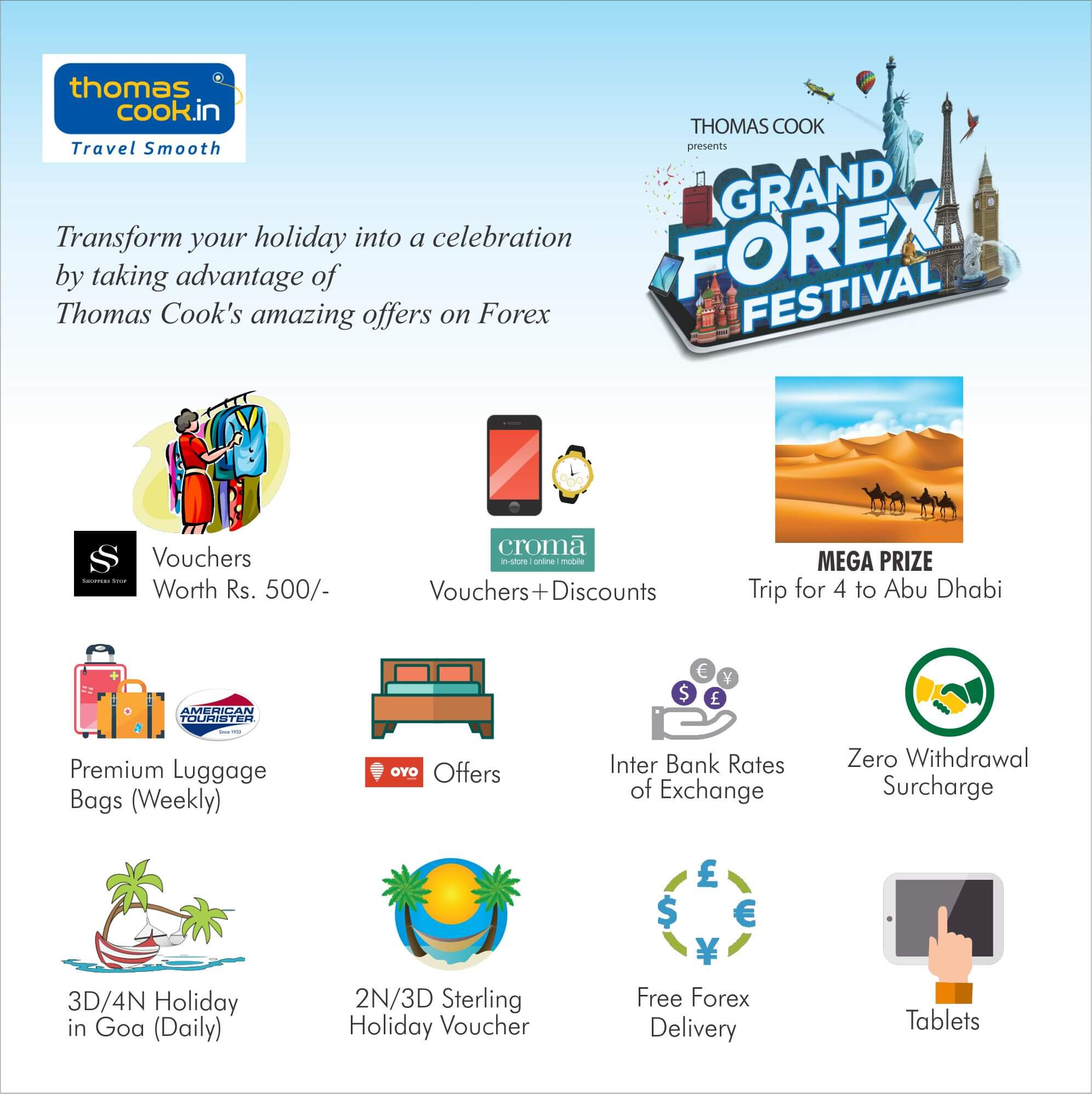 Smart forex card thomas cook