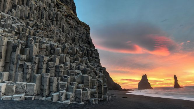 Reynisdrangar rock formations- things to do in Iceland