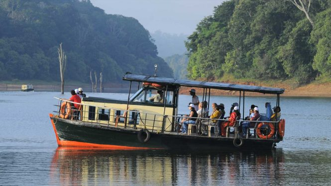 Thekkady- Child-friendly destinations in India