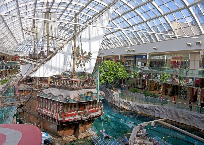 West Edmonton Mall- Canada shopping