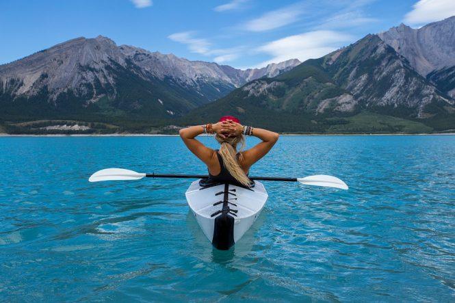 Kayaking - adventure sport