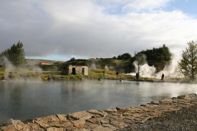 Secret Lagoon- things to do in Iceland