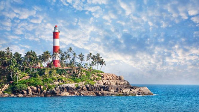 Kovalam- Beach Destinations in India for Honeymoon