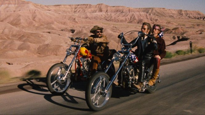 Hollywood Travel Movies- Easy Rider