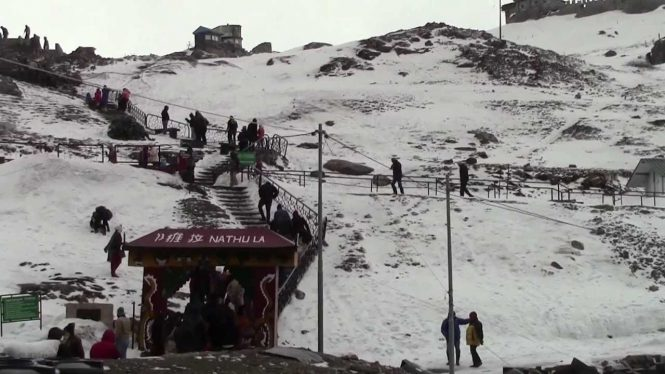 Nathu La Pass- Places to visit in North East