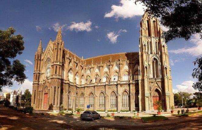 St. Philomena Church- things to do in Mysore