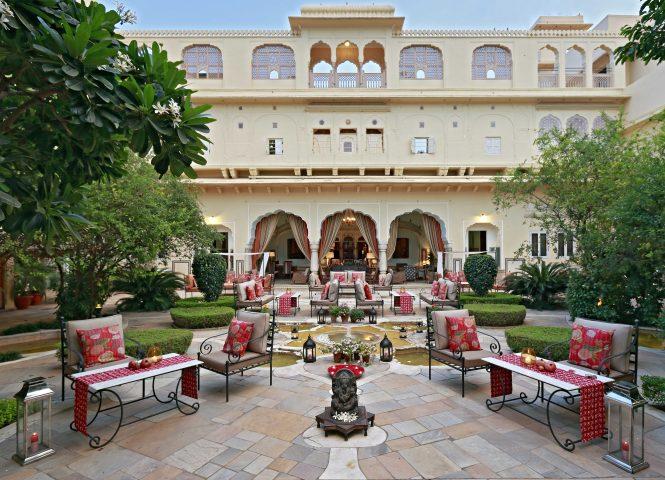 Samode Palace- resorts in Rajasthan