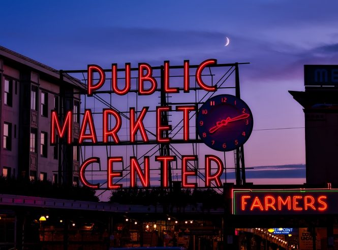 Pike place market- things to do in USA