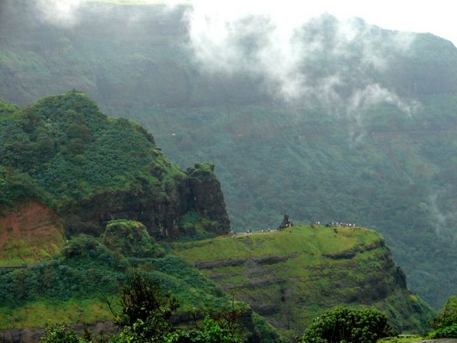 Malshej ghat- Places to Visit near Mumbai During Monsoon